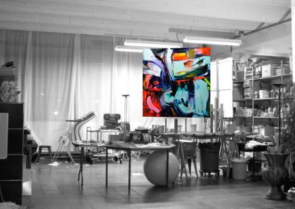 francoise nielly pintura expresiva arte moderno