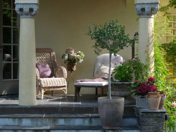 decoración floral romántico