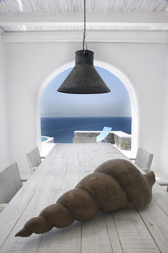 decoración estilo mediterráneo islas griegas