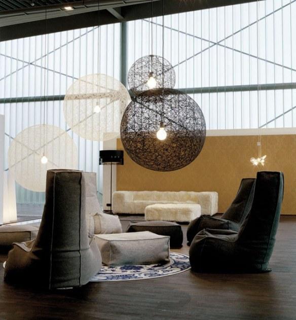 lámpara colgante de techo