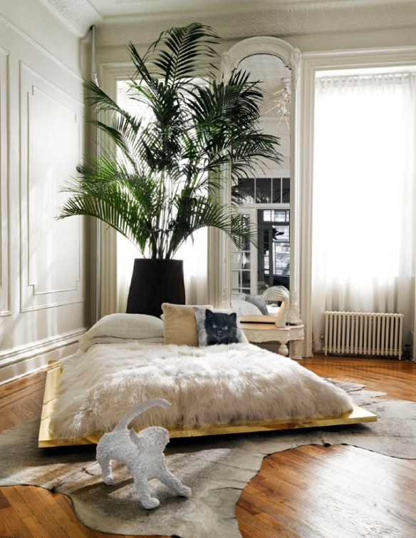 decoración glamour