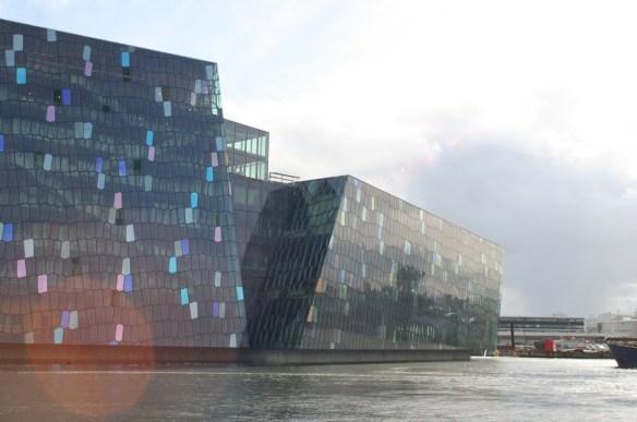 Olafur Eliasson Harpa concert hall facade fachada arquitectura