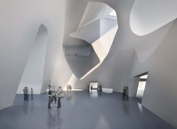 Steven Holl tianjing ecocity project