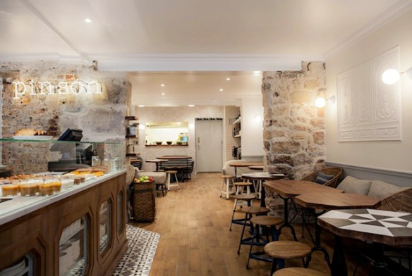 café Pinson, París