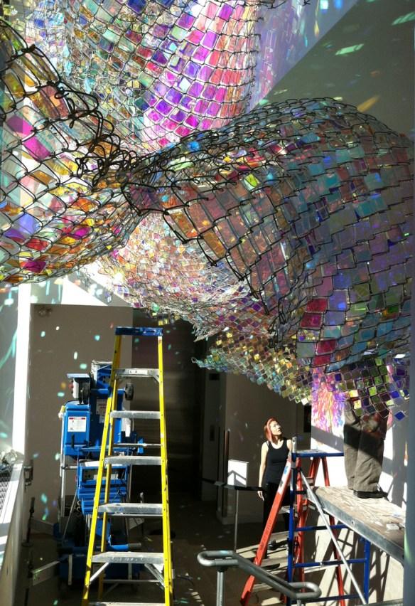 Arte, diseño, escultura de Soo Sunny Park