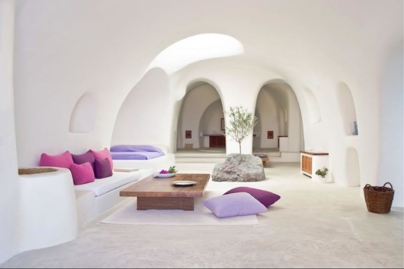 Hotel Perivolas en Oia Santorini 1