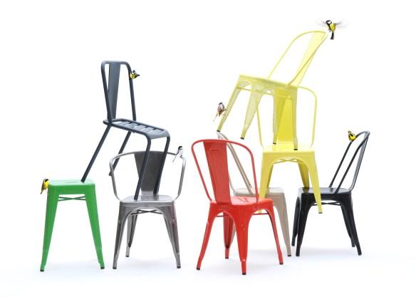 Tolix A Chair - Xavier Pauchard
