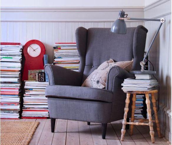 sillón Strandmon Ikea