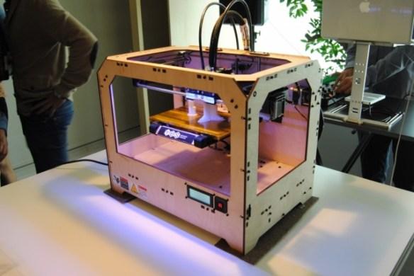 Just make, impresión 3d, impresora 3D de madera