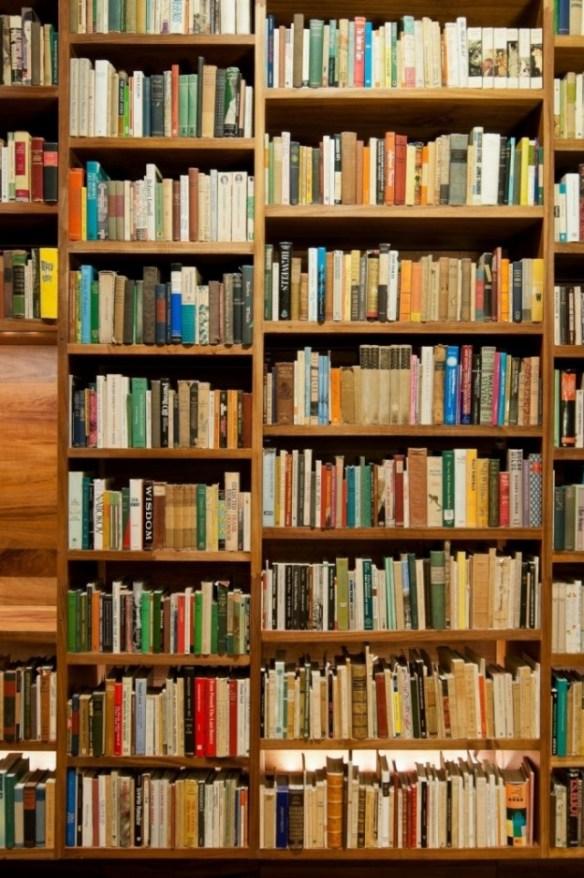 bliblioteca jaime garcía terrés, libros estantería