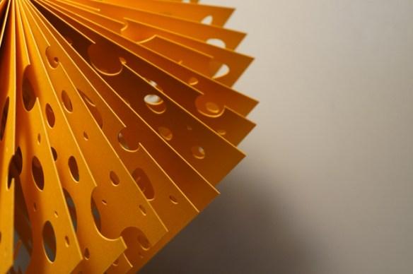 diorama queso, detalle