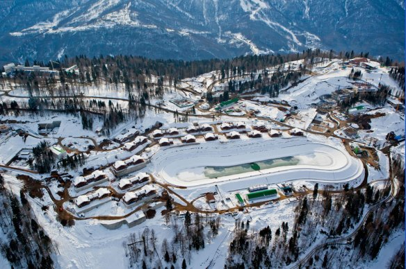 Juegos Olimpicos de Sochi, Laura Cross-Country Ski & Biathlon Centre