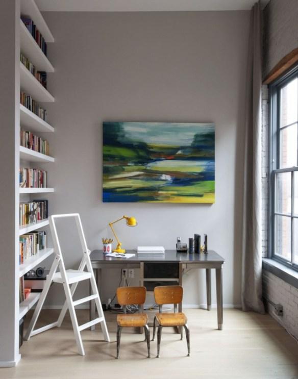 libreria en apartamento en brooklyn