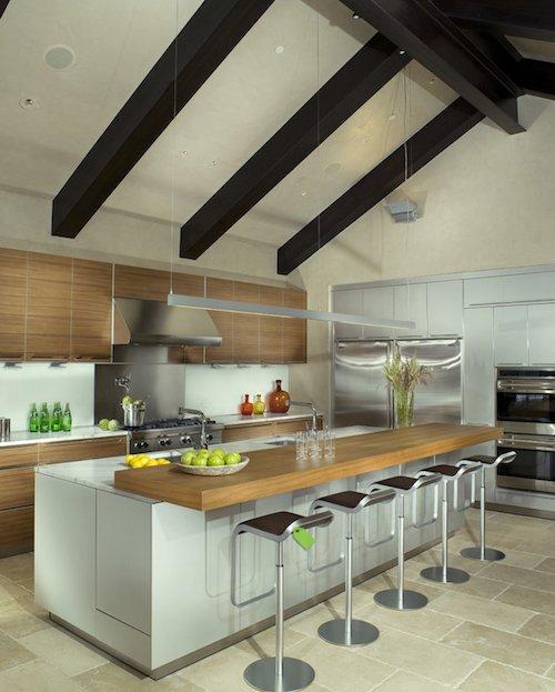 reforma cocina con barra extra en isla