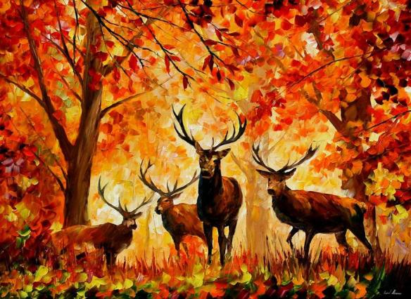 afremov ciervos