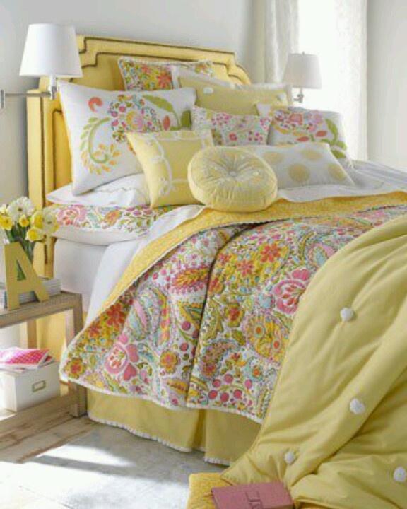 amarillo accesorios dormitorio