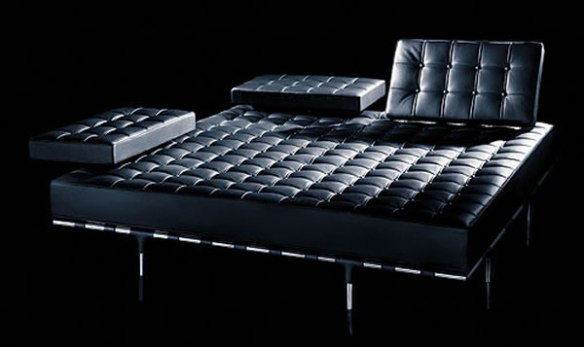 black leather seating 1