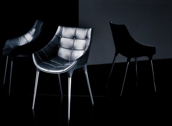 black leather seating 2