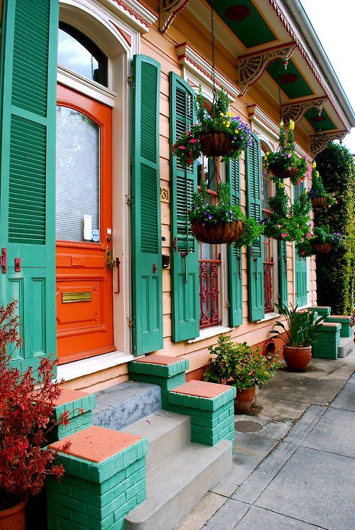 primavera casa verde