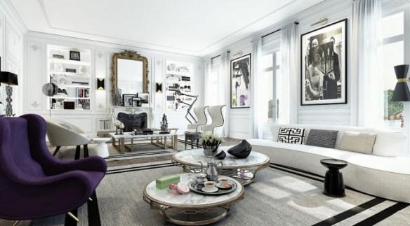 Apartmento en Sain Germain Ando estudio 5