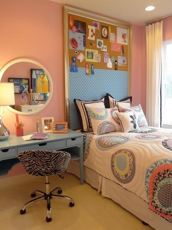 dormitorio con corcho
