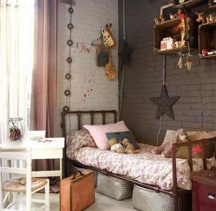 dormitorio luces y estrella