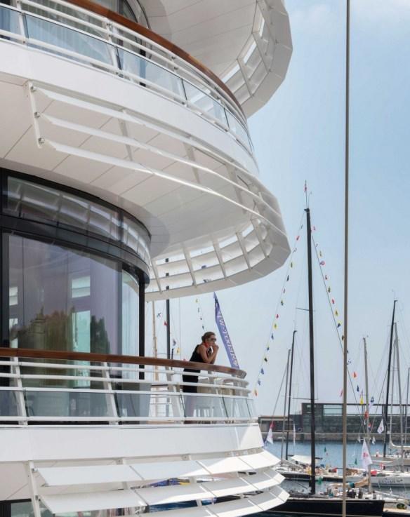 Foster + Partners Yacht Club Monaco 8