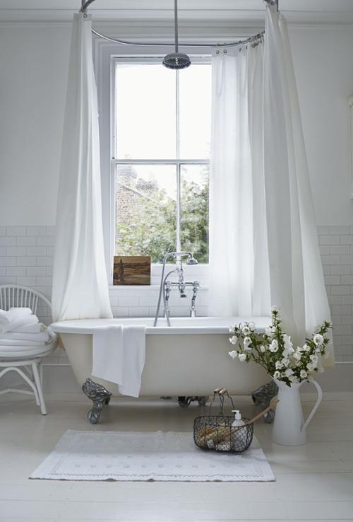 banera blanca