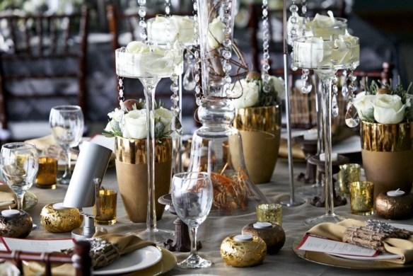 decorar la mesa en Nochevieja 13
