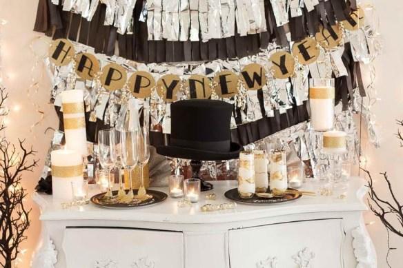 decorar la mesa en Nochevieja 20