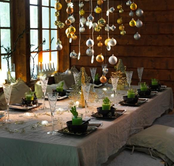 decorar la mesa en Nochevieja 21