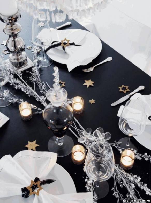 decorar la mesa en Nochevieja 25