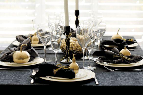 decorar la mesa en Nochevieja 3
