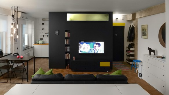 black-and-green-apartment