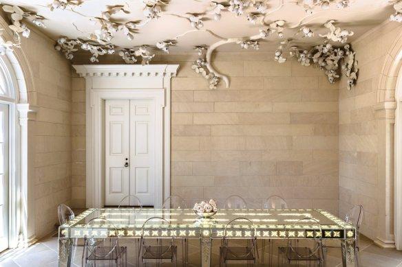 techo del artista David Wiseman