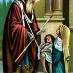 São Brás Século III Bênção Por intercessão de São Brás, Bispo e Mártir, livra-te Deus do mal da garganta e de qualquer outra doença. Em nome do Pai, e do Filho e do Espírito Santo. Amém!