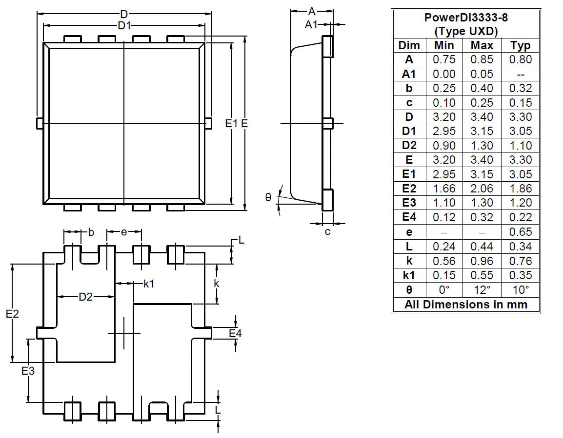 Package Outlines And Suggest Pad Layouts