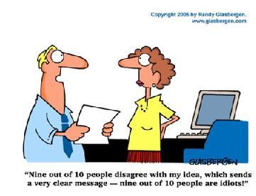 高估自己能力的人--雙語幽默漫畫 - 英語笑話 - 英語作文大全