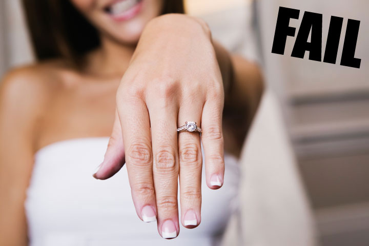 Don't put a ring on her