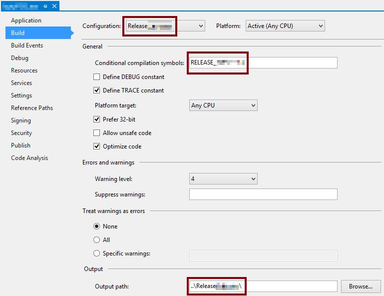 Custom Build Configurations On Visualstudio The Geeky Gecko