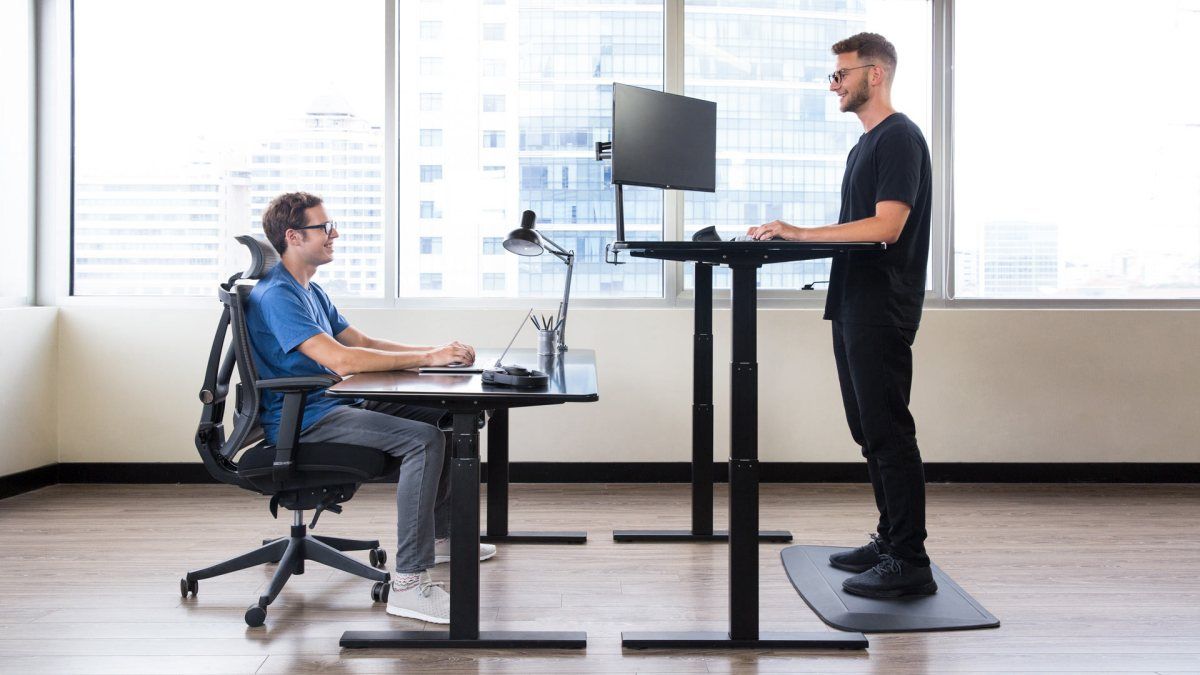 Standing desk on a budget