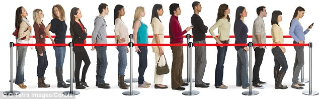 What managing a queue of people taught me about living in society