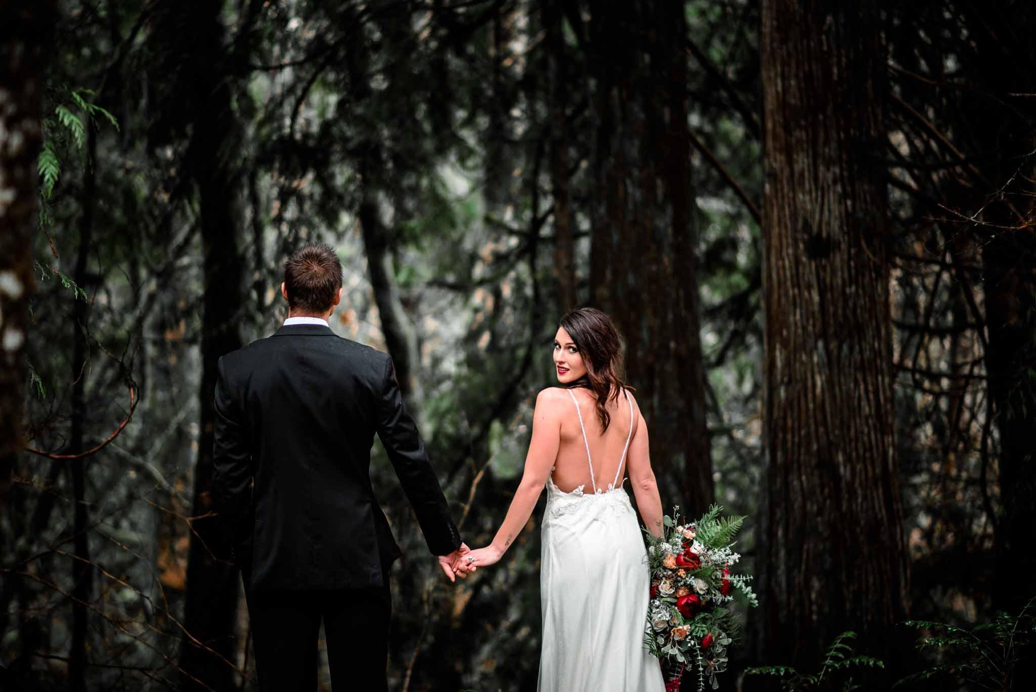 Mt Hood Burke Cabin Wedding-7