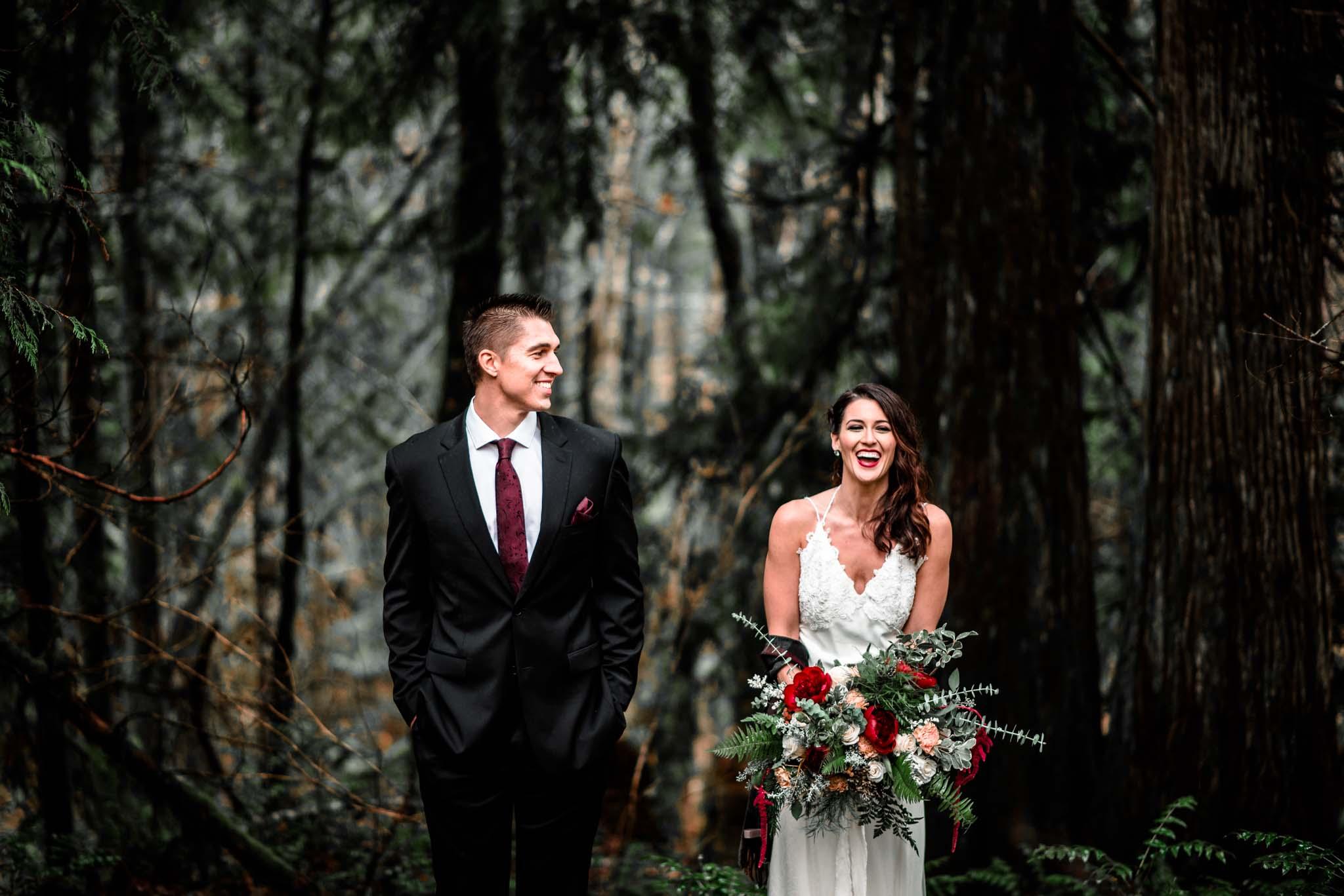 Mt Hood Burke Cabin Wedding-9