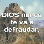 Confía en el Señor y no  serás avergonzado-1