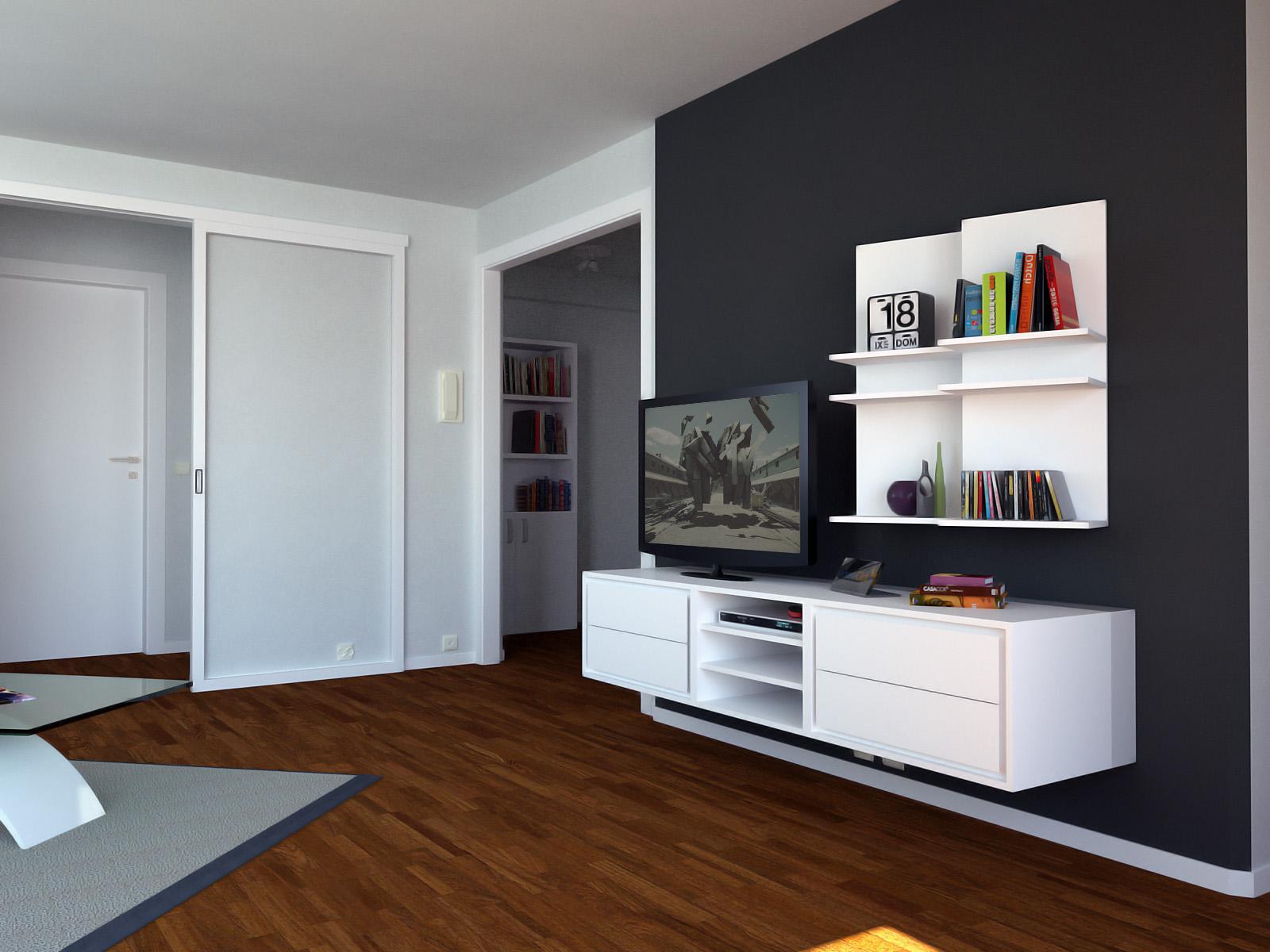 Arredare open space 50 mq isola ampio tavolo e soggiorno. Progetto Open Space 50 Mq 8122 Diotti Com