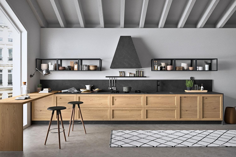 Altro esempio di disposizione cucina lineare è quella collocata su due fronti. Cucina Su Due Pareti Frontali Fifty 06 Diotti Com