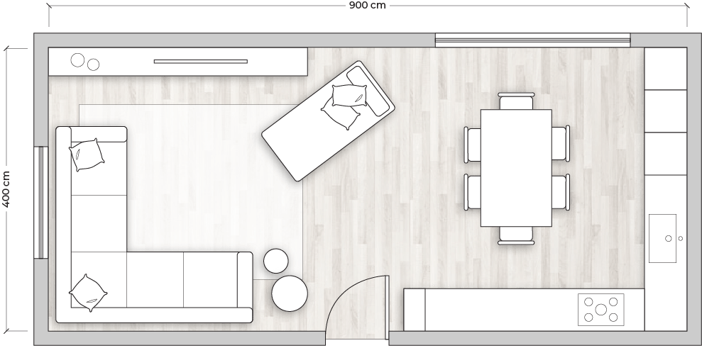 Trova tantissime idee per cucina soggiorno open space 25 mq. Come Arredare Una Cucina Open Space Guide Diotti Com