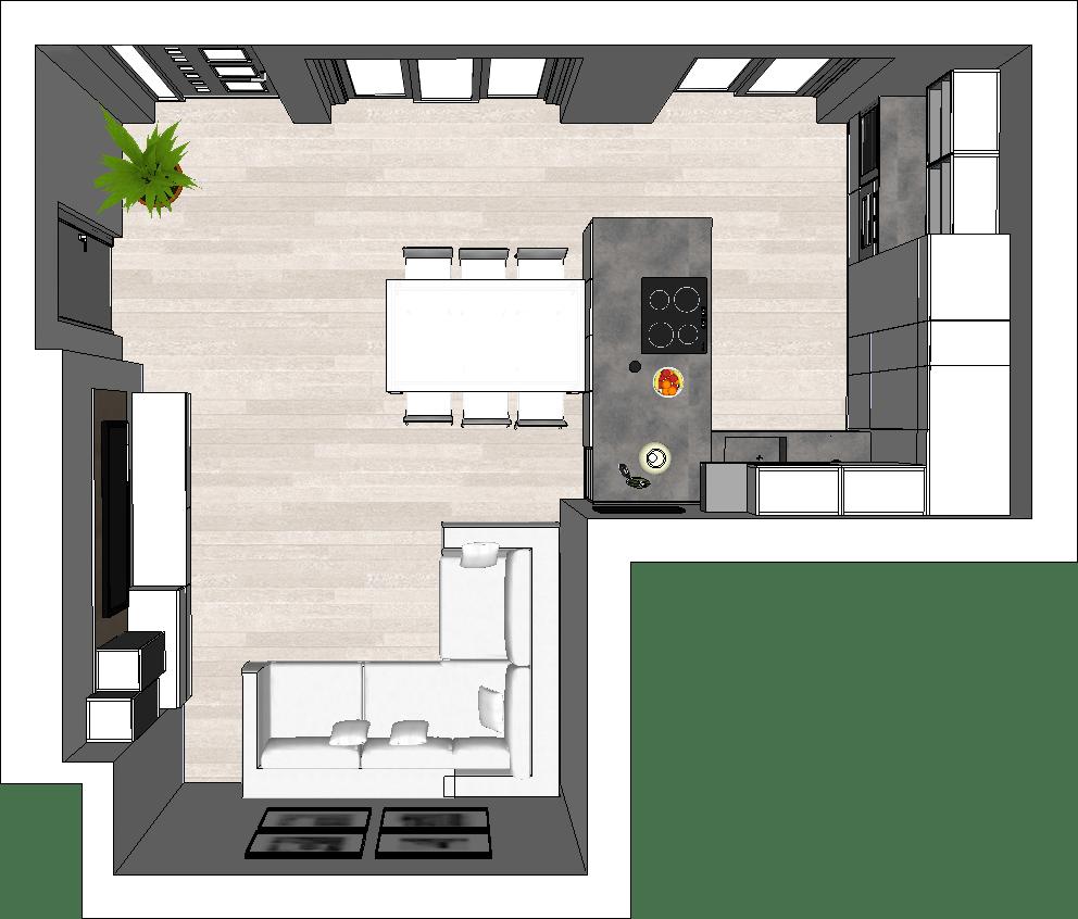 Ma in questa casa ci sono anche un soggiorno open space di circa 50 mq, tre camere e tre. How To Design An Open Plan Kitchen Diotti Com