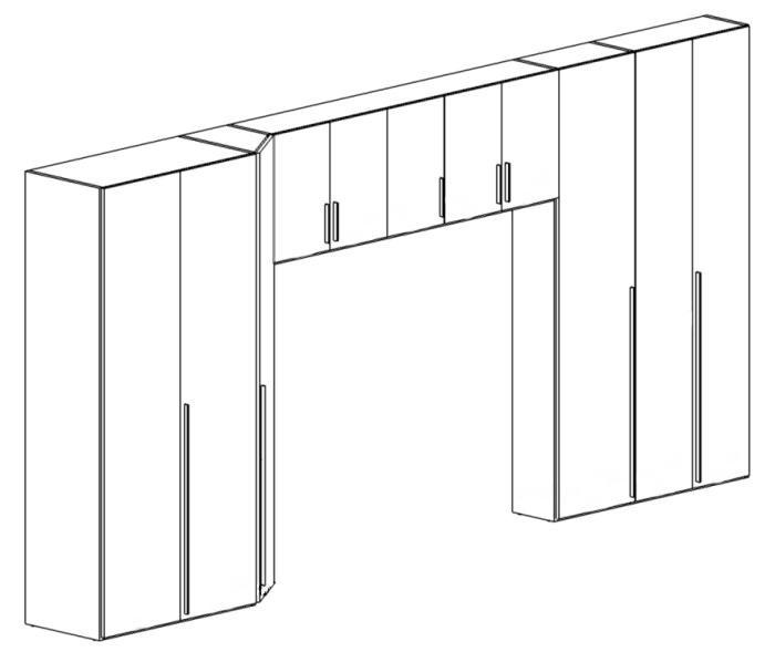 Idee Il Progetto Di Max Armadio A Ponte Con Cambio Di